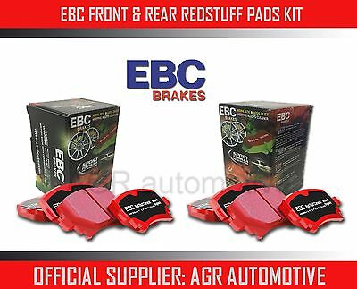 Ebc Redstuff Front + Rear Pads Kit For Mercedes-Benz (W108) 280 Sel 3.5 1971-72