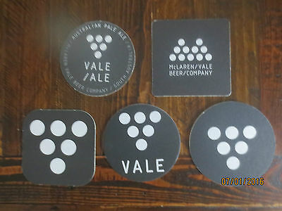 5 Different McLaren Vale BREWERY,South Australia,collectable COASTERS