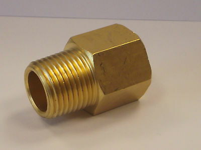 BSP-NPT Adapters , Male BSPT to Female npt Exten in Brass, European to American