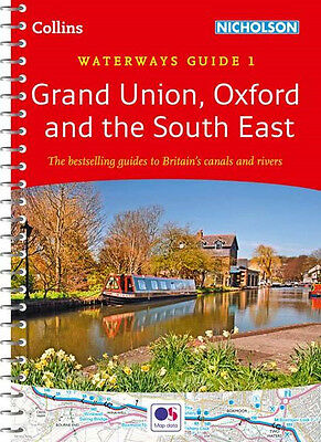 Waterways Guide 1 Grand Union, Oxford & the South East (Spiral Bound)