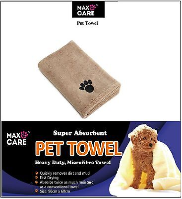 3x Large Super Absorbent Microfibre Pet Towel Puppy Dog Cleaning Drying Towels