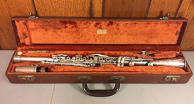 Vintage Cundy-Bettoney Clarinet Three Star Model w/ Mouthpiece and Case
