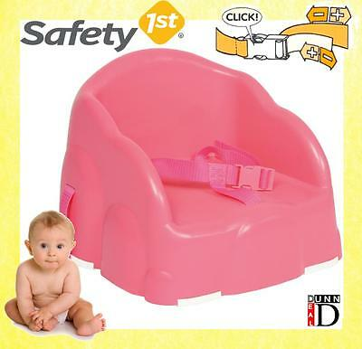 Safety 1st Portable Baby Toddler Feeding Travel High Chair Booster Seat Pink