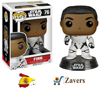 Funko Pop! - Finn Sin Casco Figura 10cm Ed. Limitada - Star Wars Episodio VII