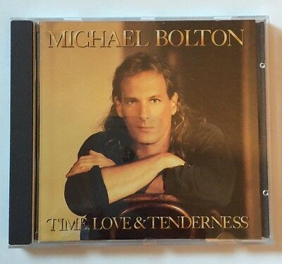 Micheal Bolton Time Love & Tenderness  Music CD