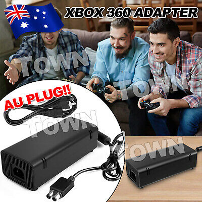 135W AC Charger Power Supply Cord Cable Black For Xbox 360 Adapter Slim Brick