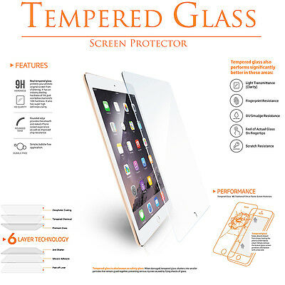 Premium Tempered Shatter-Proof Glass LCD Screen Protector for Apple iPad Mini 4