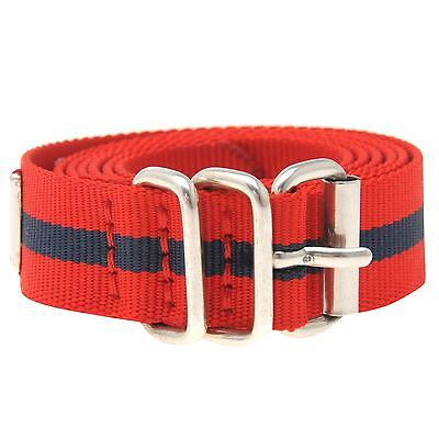Genuine Tommy Hilfiger Web Thin Style Belt Womens TW917 various sizes Red/Navy