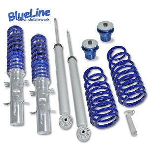 Kit Suspension Combine Fileté Vw Golf 4 De 1998 A 2004