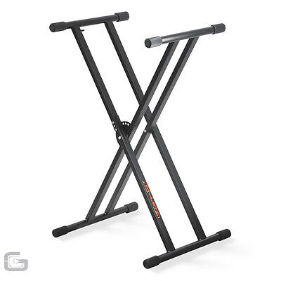 Athletic KB-2EX Adjustable Heavy Duty Keyboard Double Strength DJ Music Stand