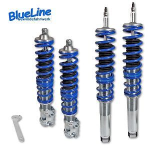 Kit Suspension Combine Fileté Vw Volkswagen Golf 2 De 1983 A 1991