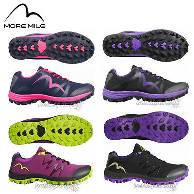 More Mile Cheviot 3 Womens Ladies Trail Off Road Fell Mud Running Trainers Shoes