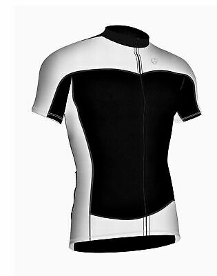 Mens Cycling Jersey Half Sleeve Top Racing Biking Top + Bib shorts set