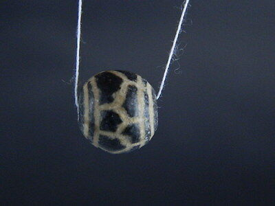 Etch Decorated Bead  #BD15005