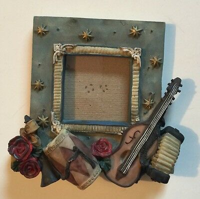 "Musical Instrument Picture Frame 1 3/4""X1 3/4"""