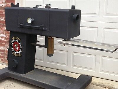 NRA dream! Custom Glock Gun shaped BBQ SMOKER (NEVER EVEN LIT!)