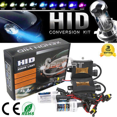 55W HID Bi Xenon Headlight Conversion KIT H1/H3/H4/H7/9005 9006 H13 9004/7 Hi/Lo