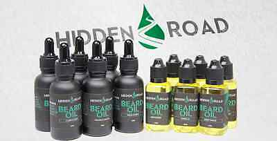 "Beard Oil 1oz / 30ml Natural Vegan Organic from Sweden from ""Hidden Road"" brand."