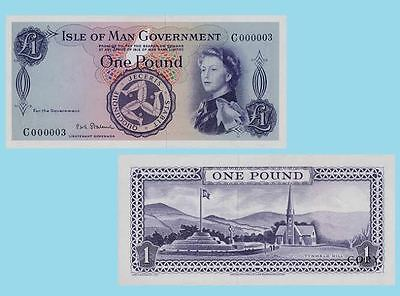 Isle of Man 1 Pound ND. UNC - Reproductions