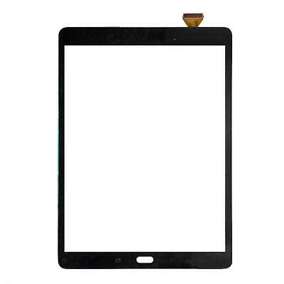 "For Samsung Galaxy Tab A T550 Digitizer Black Touch Screen Front Glass 9.7"" T555"