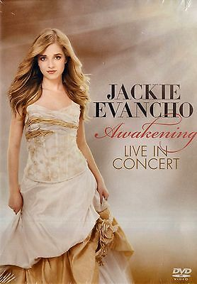 New Dvd // Jackie Evancho // Awakening // Live In Concert // 17 Tracks