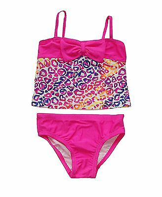 Children's Place toddler girls 2-piece pink bow tankini swim suit 2T 3T 4T NWT