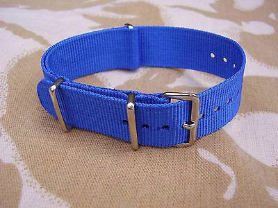 SAS (SPECIAL AIR SERVICE) Stable Belt Colour Blue G10 Military Army Watch Strap