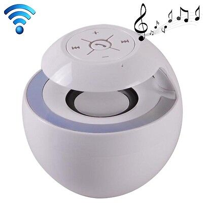 Portable Mini Bluetooth Speaker Stereo Music Mobile Phone Sound White