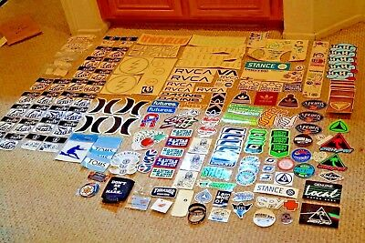Lot Of 100 No Fear Skateboard Motorcycle Bumper Sticker Lot New In Packages