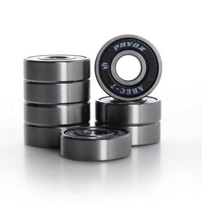 Skateboard Bearings Top Quality Pavoz ABEC-7 High Quality Silver
