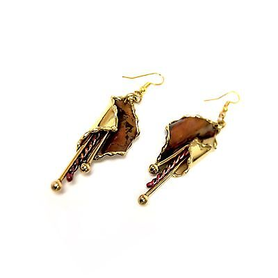Muziki Copper Earrings