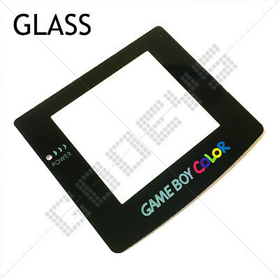Scratch Resistant GLASS Nintendo Game Boy Color GBC New Replacement Screen Lens