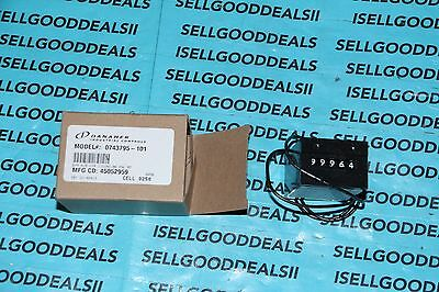 Danaher/Veeder Root 0743795-101 Electromechanical Counter 5-Digit 115VAC New