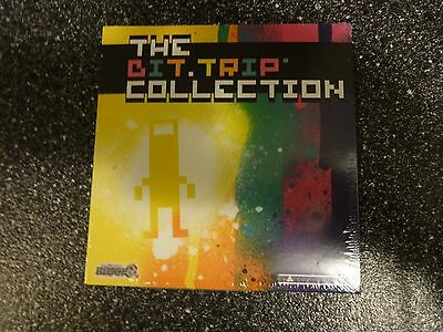 New and Sealed The Bit.Trip Complete Collection 6 Complete Games Arcade Block