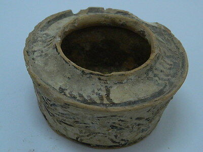 Ancient Teracotta Painted Pyxis Indus Valley 2500 BC #PT15210