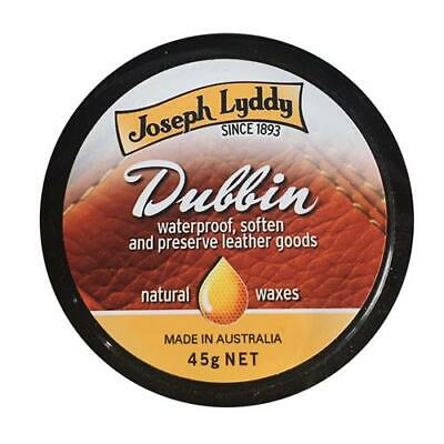 DUBBIN - NEUTRAL Wax Polish Cream - Waterproof Clean Leather Jacket Boot Shoes
