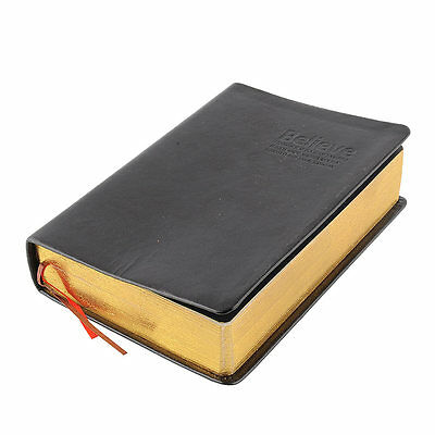 Classic Leather Cover Thick Blank Pages Notebook Journal Diary Sketchbook