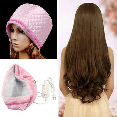 New Hair Thermal Treatment Beauty Hair Steamer SPA Nourishing Care Cap US Plug