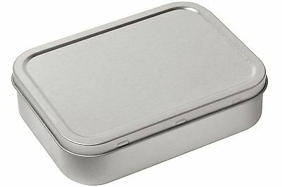 Tobacco Tin 2oz / 125ml Silver