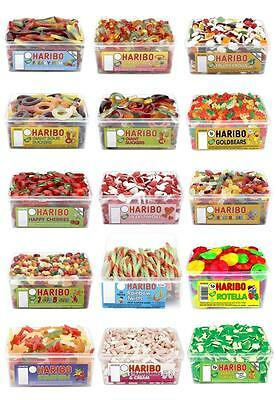 Haribo Retro Sweets Candy Kids Party Pick & Mix Tubs Xmas Gift Choose Amount