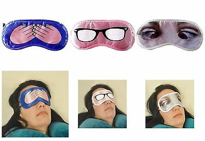 Novelty Eye Mask Travel Sleepwear Blindfold Funny Gift Party Sleep Patch Blinder