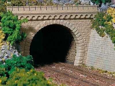 Auhagen 11343 NEW HO 2 DOUBLE TRACK TUNNEL PORTALS