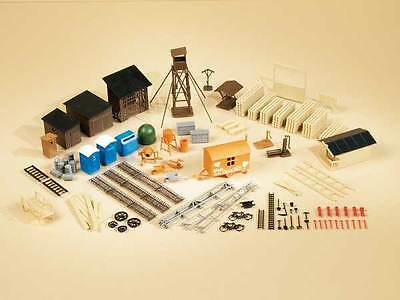 Auhagen 42652 NEW HO VARIETY OF DIFFERENT ACCESSORIES FOR LAYOUT TREASURE CHE