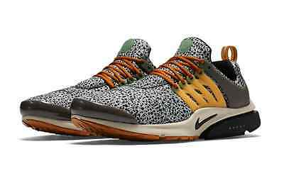 e36084c6d5fb Nike Air Presto SE QS  Safari  Neutral Grey Black Kumquat String 844448-002