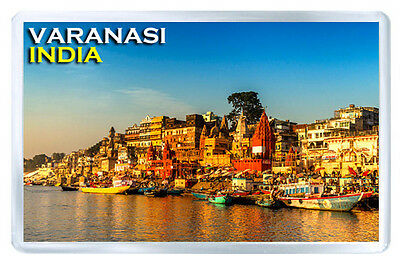 Varanasi India Fridge Magnet Souvenir Iman Nevera