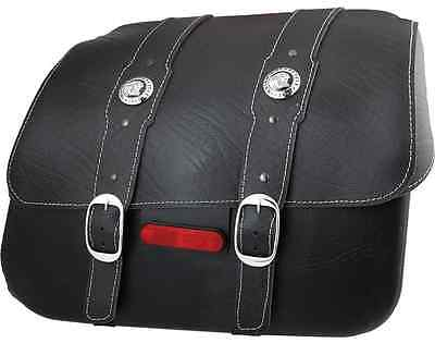 Indian Motorcycle Genuine Black Leather Saddlebags For 2015-2018 Scout, Sixty