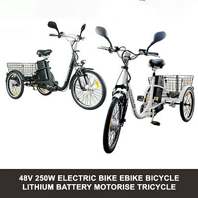 "NEW Mini Electric Bike 14"" eBike Bicycle Motorised 48V Battery Lithium Folding"