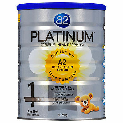 BRAND NEW SEALED A2 Platinum Infant Formula Stage 1 900g