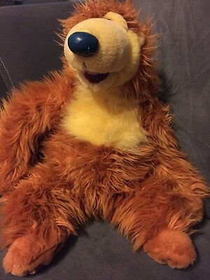 Authentic Disney Store Exclusive Original Bear In The Big Blue House Figure Doll