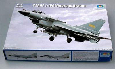 Trumpeter 1/48 02841 PLAAF J-10A Vigorous Dragon model kit